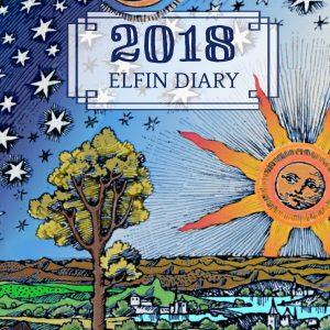 Cover of 2018 elfin diary