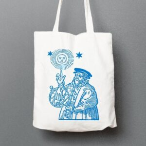 Old Astronomer tote bag