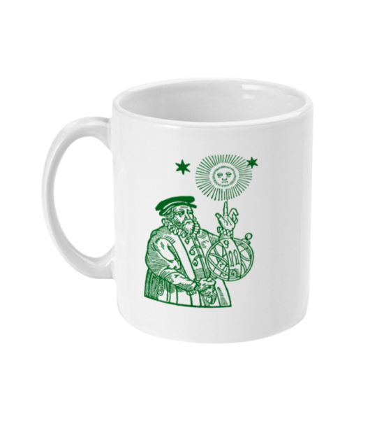 The Old Astronomer Mug - Green