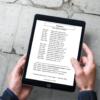 Elfin's Almanac displayed on an iPad