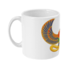 Wadjet mug from the side