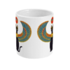 Egyptian Bastet mug front view
